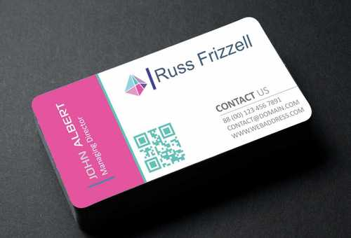 Russ Frizzell Business Cards and Stationery  Draft # 125 by Dawson