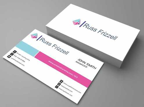 Russ Frizzell Business Cards and Stationery  Draft # 126 by Dawson