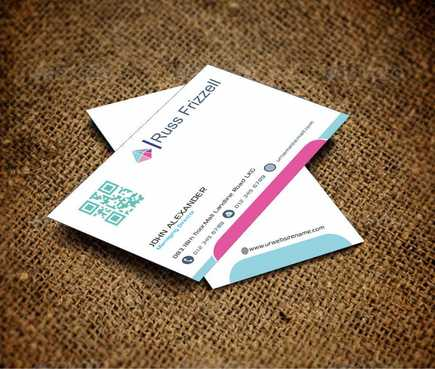 Russ Frizzell Business Cards and Stationery  Draft # 128 by Dawson