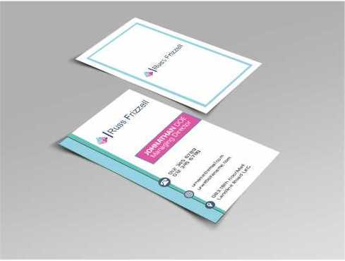 Russ Frizzell Business Cards and Stationery  Draft # 129 by Dawson