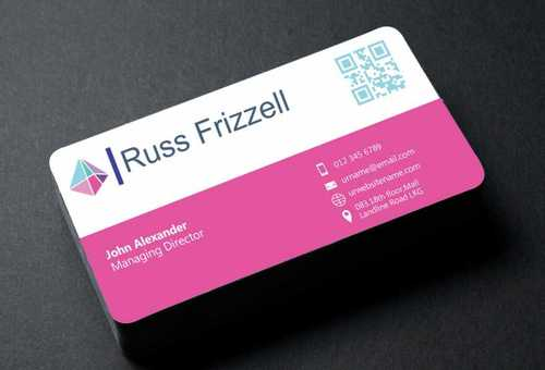 Russ Frizzell Business Cards and Stationery  Draft # 130 by Dawson