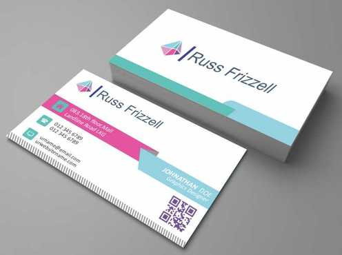 Russ Frizzell Business Cards and Stationery  Draft # 132 by Dawson
