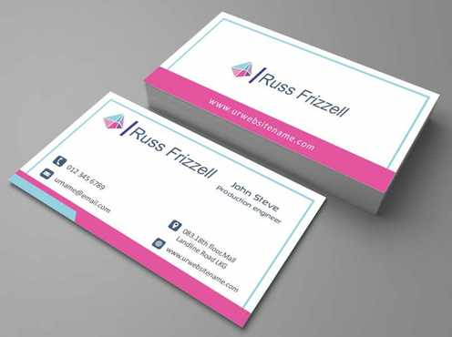Russ Frizzell Business Cards and Stationery  Draft # 133 by Dawson