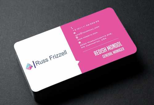 Russ Frizzell Business Cards and Stationery  Draft # 134 by Dawson