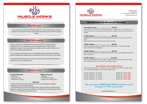 Muscle Works Poster Other  Draft # 17 by musammim97