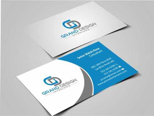 Grand Design Interiors Business Cards and Stationery  Draft # 178 by Dawson