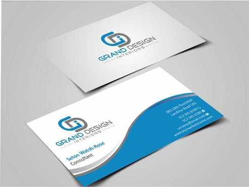 Grand Design Interiors Business Cards and Stationery  Draft # 179 by Dawson