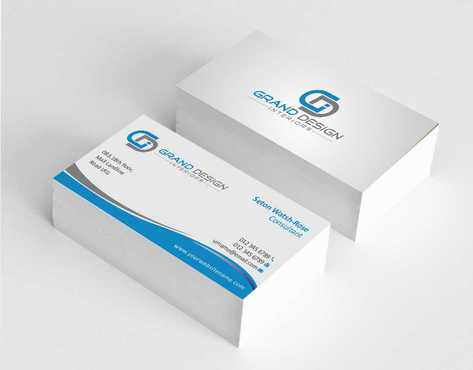 Grand Design Interiors Business Cards and Stationery  Draft # 180 by Dawson