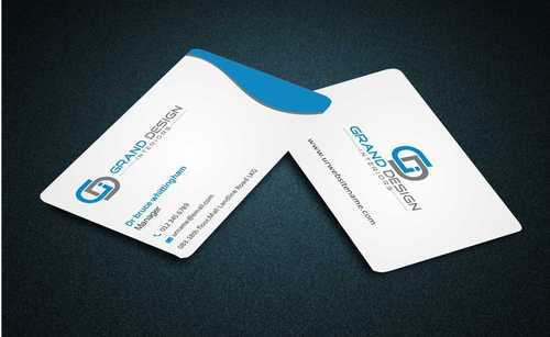Grand Design Interiors Business Cards and Stationery  Draft # 182 by Dawson