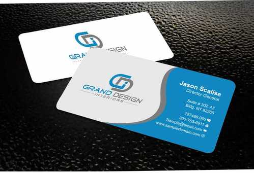 Grand Design Interiors Business Cards and Stationery  Draft # 183 by Dawson