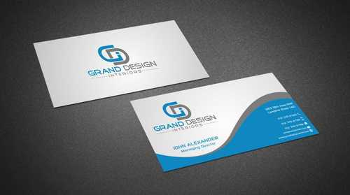 Grand Design Interiors Business Cards and Stationery  Draft # 184 by Dawson