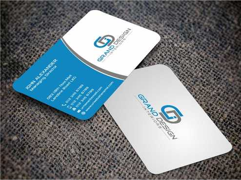 Grand Design Interiors Business Cards and Stationery  Draft # 186 by Dawson