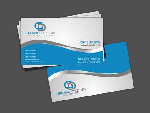Grand Design Interiors Business Cards and Stationery  Draft # 188 by Dawson