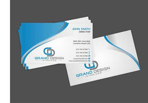 Grand Design Interiors Business Cards and Stationery  Draft # 189 by Dawson