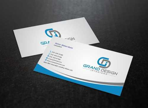 Grand Design Interiors Business Cards and Stationery  Draft # 191 by Dawson