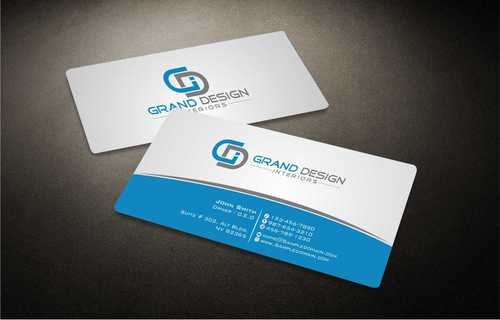 Grand Design Interiors Business Cards and Stationery  Draft # 192 by Dawson
