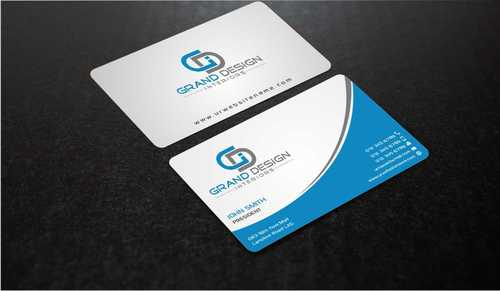 Grand Design Interiors Business Cards and Stationery  Draft # 193 by Dawson