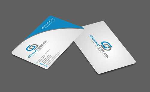 Grand Design Interiors Business Cards and Stationery  Draft # 194 by Dawson