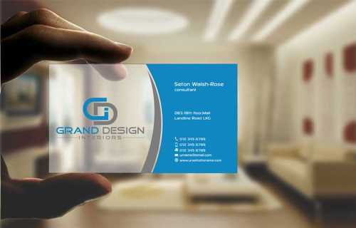 Grand Design Interiors Business Cards and Stationery  Draft # 195 by Dawson