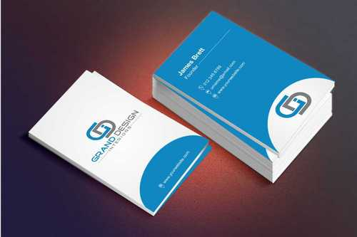 Grand Design Interiors Business Cards and Stationery  Draft # 197 by Dawson