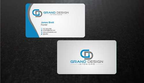 Grand Design Interiors Business Cards and Stationery  Draft # 198 by Dawson