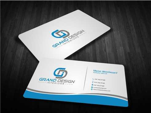 Grand Design Interiors Business Cards and Stationery  Draft # 199 by Dawson