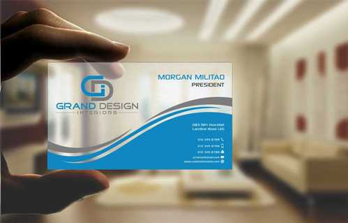 Grand Design Interiors Business Cards and Stationery  Draft # 200 by Dawson