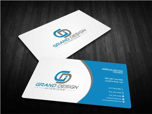 Grand Design Interiors Business Cards and Stationery  Draft # 202 by Dawson