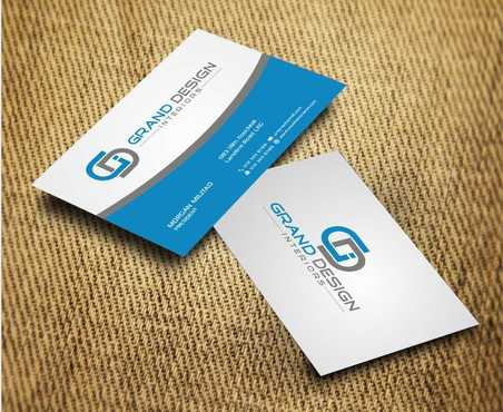 Grand Design Interiors Business Cards and Stationery  Draft # 204 by Dawson