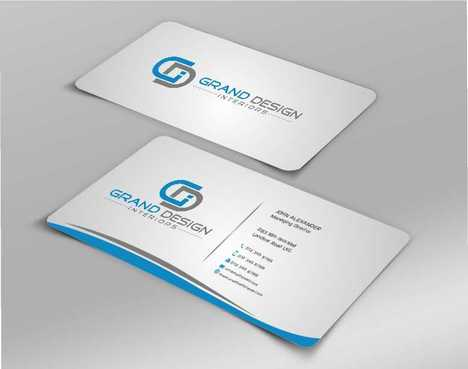 Grand Design Interiors Business Cards and Stationery  Draft # 206 by Dawson