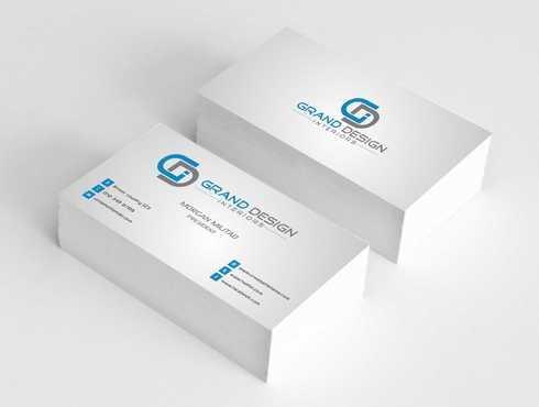 Grand Design Interiors Business Cards and Stationery  Draft # 207 by Dawson