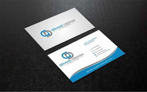 Grand Design Interiors Business Cards and Stationery  Draft # 209 by Dawson