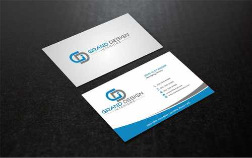 Grand Design Interiors Business Cards and Stationery  Draft # 210 by Dawson
