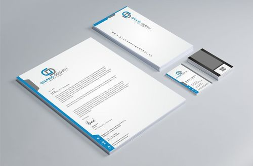 Grand Design Interiors Business Cards and Stationery  Draft # 219 by Dawson