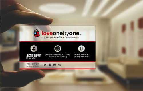 LOVE1X1.ORG Business Cards and Stationery  Draft # 208 by Dawson