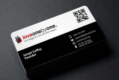 LOVE1X1.ORG Business Cards and Stationery  Draft # 209 by Dawson