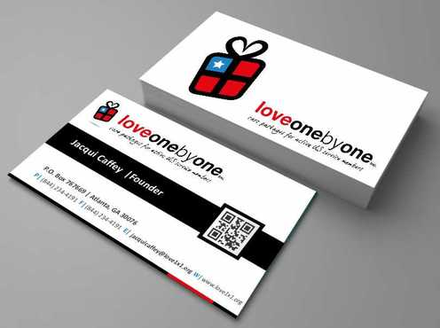 LOVE1X1.ORG Business Cards and Stationery  Draft # 210 by Dawson