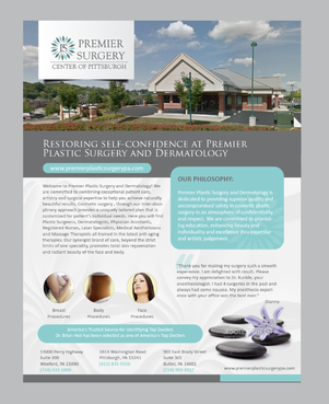 Flyer for Referring Doctors Marketing collateral  Draft # 4 by Achiver