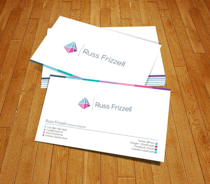Russ Frizzell Business Cards and Stationery  Draft # 169 by PerfectDesigning