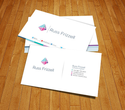 Russ Frizzell Business Cards and Stationery  Draft # 188 by PerfectDesigning