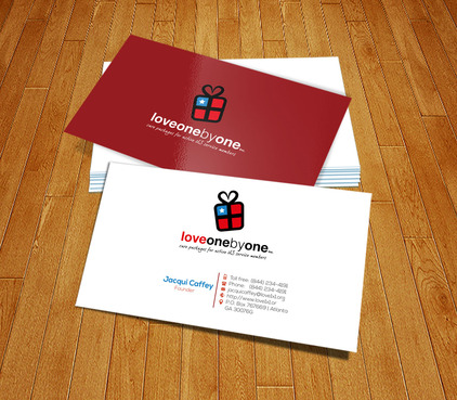 LOVE1X1.ORG Business Cards and Stationery  Draft # 226 by PerfectDesigning