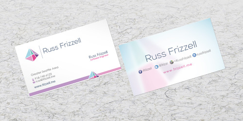 Russ Frizzell Business Cards and Stationery  Draft # 205 by sevensky