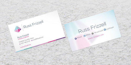 Russ Frizzell Business Cards and Stationery  Draft # 206 by sevensky
