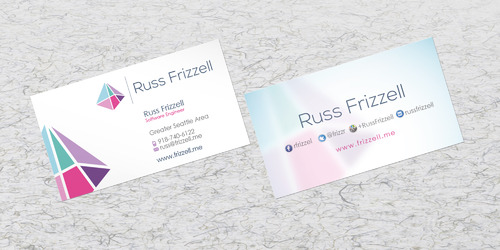 Russ Frizzell Business Cards and Stationery  Draft # 207 by sevensky