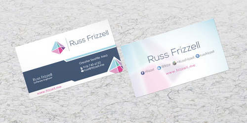 Russ Frizzell Business Cards and Stationery  Draft # 209 by sevensky