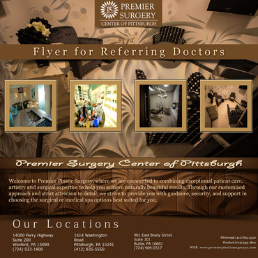 Flyer for Referring Doctors Marketing collateral  Draft # 7 by adizzz