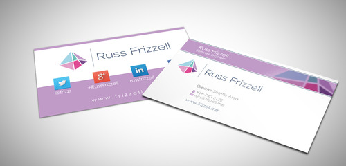 Russ Frizzell Business Cards and Stationery  Draft # 219 by sevensky