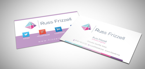 Russ Frizzell Business Cards and Stationery  Draft # 220 by sevensky