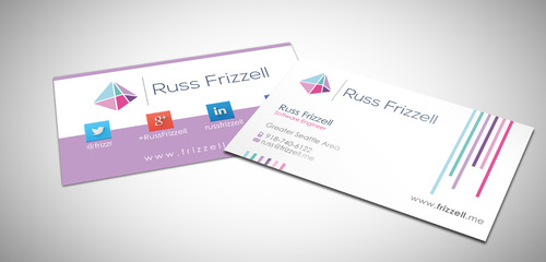 Russ Frizzell Business Cards and Stationery  Draft # 221 by sevensky