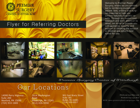 Flyer for Referring Doctors Marketing collateral  Draft # 8 by adizzz